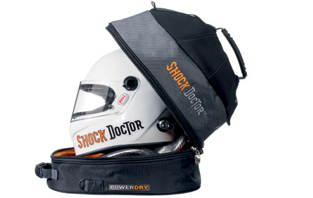ShockDoctor helmet bag